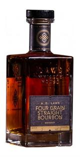 A.D. Laws Bourbon Four Grain 750ml